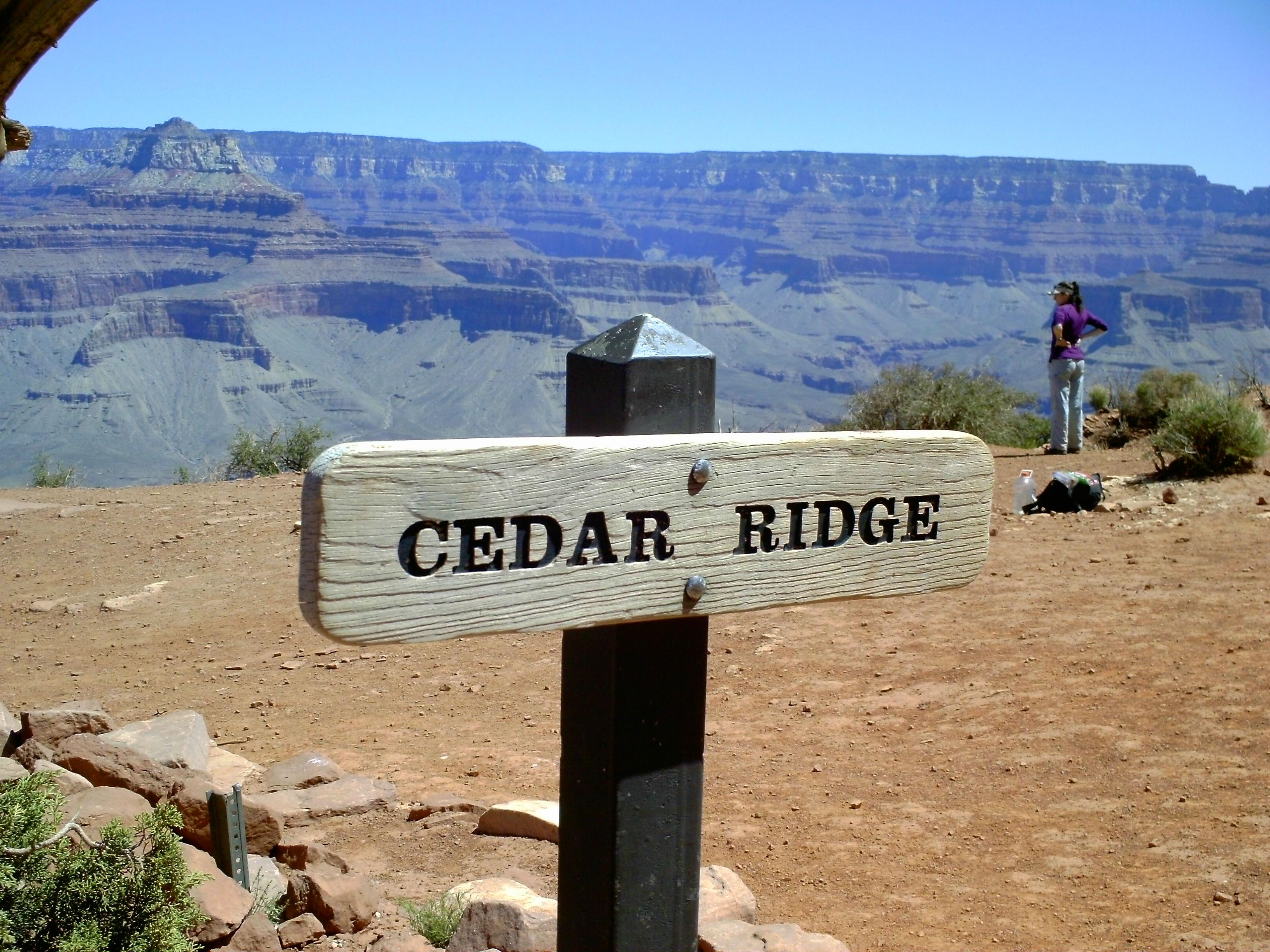 Grand canyon national park az explorerhawk 39 s blog for Cedar ridge